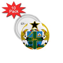 Coat of Arms of Ghana 1.75  Buttons (10 pack)