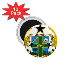 Coat of Arms of Ghana 1.75  Magnets (10 pack)