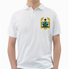 Coat of Arms of Ghana Golf Shirts