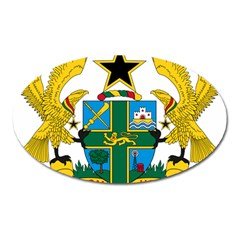 Coat of Arms of Ghana Oval Magnet
