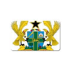 Coat of Arms of Ghana Magnet (Name Card)