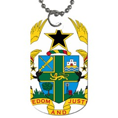Coat of Arms of Ghana Dog Tag (Two Sides)
