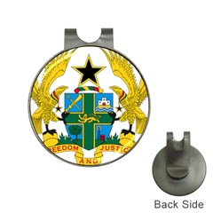 Coat of Arms of Ghana Hat Clips with Golf Markers