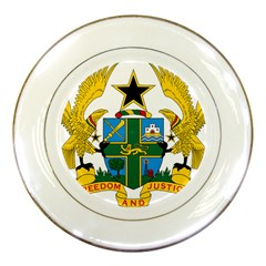 Coat of Arms of Ghana Porcelain Plates