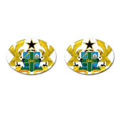 Coat of Arms of Ghana Cufflinks (Oval)