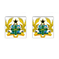 Coat of Arms of Ghana Cufflinks (Square)