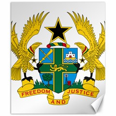 Coat of Arms of Ghana Canvas 8  x 10