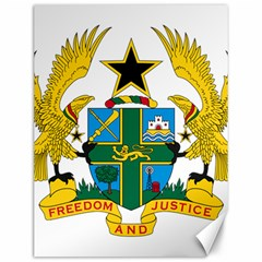 Coat of Arms of Ghana Canvas 12  x 16