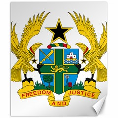 Coat of Arms of Ghana Canvas 20  x 24