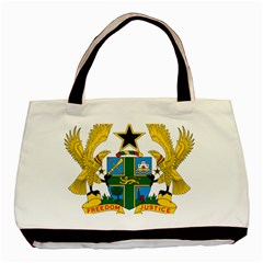 Coat of Arms of Ghana Basic Tote Bag (Two Sides)