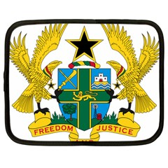 Coat of Arms of Ghana Netbook Case (Large)