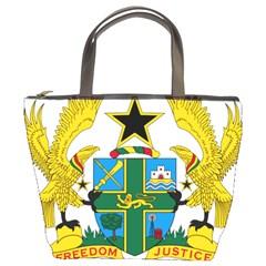 Coat of Arms of Ghana Bucket Bags