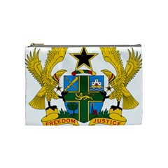 Coat of Arms of Ghana Cosmetic Bag (Medium)
