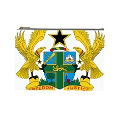 Coat of Arms of Ghana Cosmetic Bag (Large)