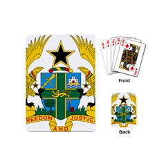 Coat of Arms of Ghana Playing Cards (Mini)