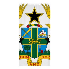 Coat of Arms of Ghana Shower Curtain 36  x 72  (Stall)