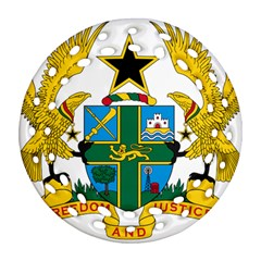 Coat of Arms of Ghana Ornament (Round Filigree)