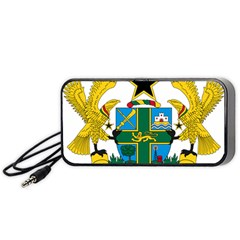 Coat of Arms of Ghana Portable Speaker (Black)