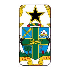 Coat of Arms of Ghana Apple iPhone 4/4s Seamless Case (Black)
