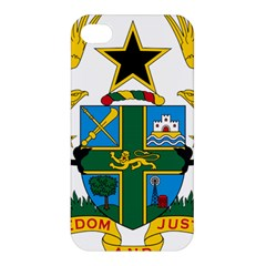 Coat of Arms of Ghana Apple iPhone 4/4S Hardshell Case