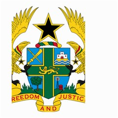 Coat of Arms of Ghana Small Garden Flag (Two Sides)