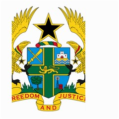 Coat of Arms of Ghana Large Garden Flag (Two Sides)