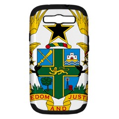 Coat of Arms of Ghana Samsung Galaxy S III Hardshell Case (PC+Silicone)