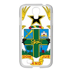 Coat of Arms of Ghana Samsung GALAXY S4 I9500/ I9505 Case (White)