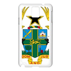 Coat of Arms of Ghana Samsung Galaxy Note 3 N9005 Case (White)