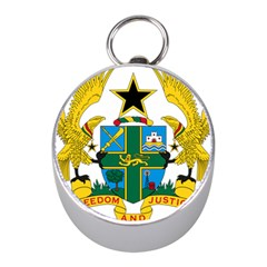 Coat of Arms of Ghana Mini Silver Compasses