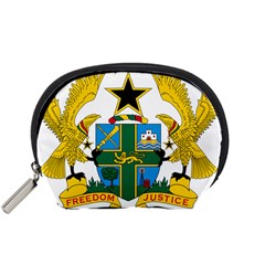 Coat of Arms of Ghana Accessory Pouches (Small)