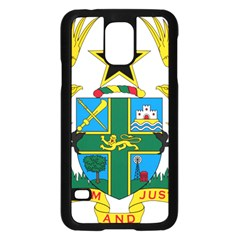 Coat of Arms of Ghana Samsung Galaxy S5 Case (Black)