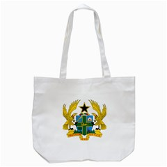 Coat of Arms of Ghana Tote Bag (White)