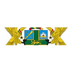 Coat of Arms of Ghana Satin Scarf (Oblong)