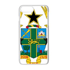 Coat of Arms of Ghana Apple iPhone 7 Plus White Seamless Case