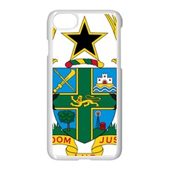 Coat of Arms of Ghana Apple iPhone 7 Seamless Case (White)