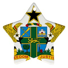 Coat of Arms of Ghana Ornament (Star)
