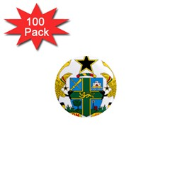 Coat of Arms of Ghana 1  Mini Magnets (100 pack)