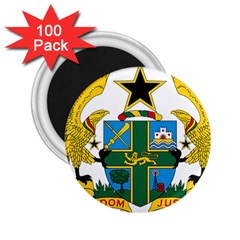 Coat of Arms of Ghana 2.25  Magnets (100 pack)