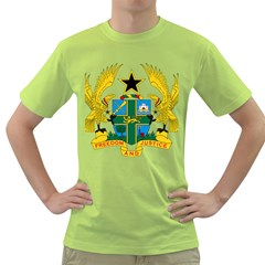 Coat of Arms of Ghana Green T-Shirt
