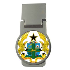 Coat of Arms of Ghana Money Clips (Round)
