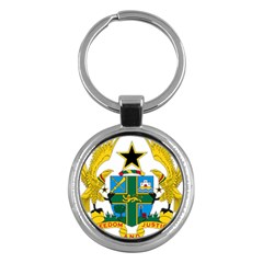 Coat of Arms of Ghana Key Chains (Round)