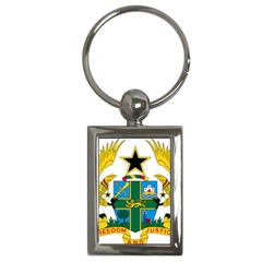 Coat of Arms of Ghana Key Chains (Rectangle)