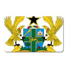 Coat of Arms of Ghana Magnet (Rectangular)