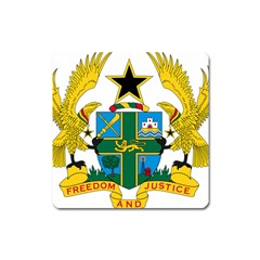 Coat of Arms of Ghana Square Magnet