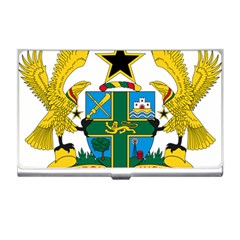 Coat of Arms of Ghana Business Card Holders