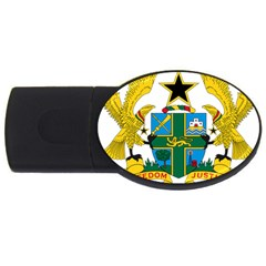 Coat of Arms of Ghana USB Flash Drive Oval (2 GB)