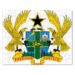 Coat of Arms of Ghana Rectangular Jigsaw Puzzl