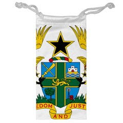 Coat of Arms of Ghana Jewelry Bag