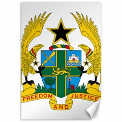 Coat of Arms of Ghana Canvas 12  x 18